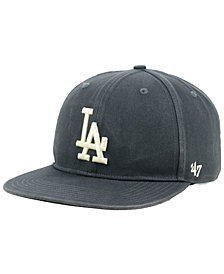 '47 Brand Los Angeles Dodgers Garment Washed Navy Snapback Cap