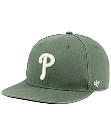 '47 Brand Philadelphia Phillies Moss Snapback Cap