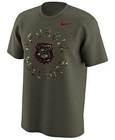 Men's Georgia Bulldogs Camo Legend Logo T-Shirt