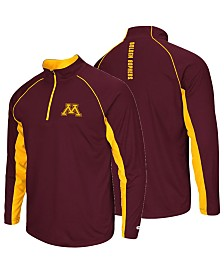 Colosseum Men's Minnesota Golden Gophers Rival Quarter-Zip Pullover