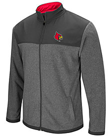Colosseum Men's Louisville Cardinals Full-Zip Fleece Jacket