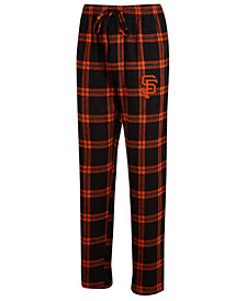 Concepts Sport Men's San Francisco Giants Homestretch Flannel Pajama Pants