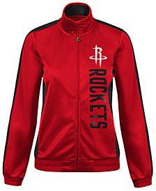 G-III Sports Women's Houston Rockets Backfield Track Jacket