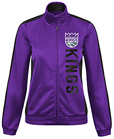 G-III Sports Women's Sacramento Kings Backfield Track Jacket