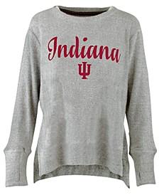Women's Indiana Hoosiers Cuddle Knit Sweatshirt