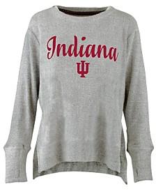 Pressbox Women's Indiana Hoosiers Cuddle Knit Sweatshirt