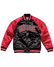 Mitchell & Ness Men's Chicago Bulls Tough Season Satin Jacket