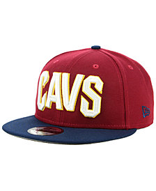 New Era Cleveland Cavaliers Basic 2 Tone 9FIFTY Snapback Cap