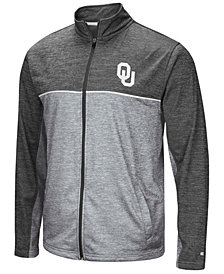 Colosseum Men's Oklahoma Sooners Reflective Full-Zip Jacket