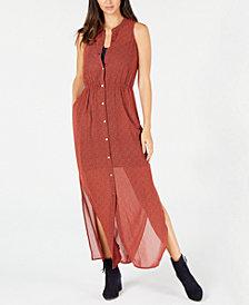 MICHAEL Michael Kors Floral-Print Sleeveless Shirtdress, In Regular & Petite Sizes