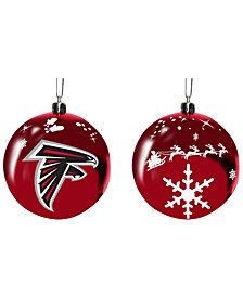 "Memory Company Atlanta Falcons 3"" Sled Glass Ball"