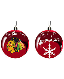 "Memory Company Chicago Blackhawks 3"" Sled Glass Ball"