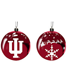 "Memory Company Indiana Hoosiers 3"" Sled Glass Ball"