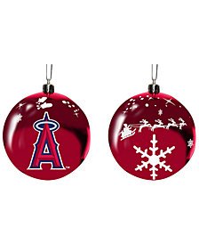 "Memory Company Los Angeles Angels 3"" Sled Glass Ball"