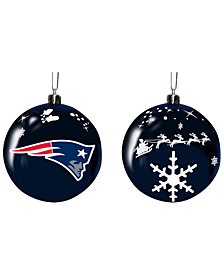 "Memory Company New England Patriots 3"" Sled Glass Ball"