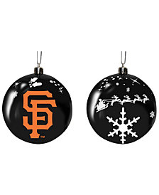 "Memory Company San Francisco Giants 3"" Sled Glass Ball"