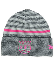New Era Sacramento Kings Striped Cuff Knit Hat