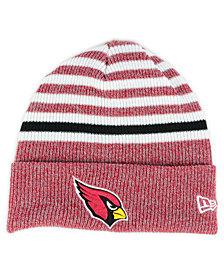 New Era Arizona Cardinals Striped2 Cuff Knit Hat