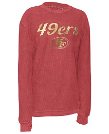 Pressbox Women's San Francisco 49ers Comfy Cord Top