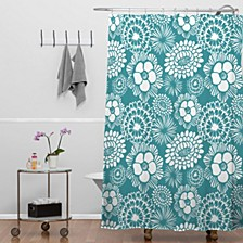 Heather Dutton Festibloom Shower Curtain