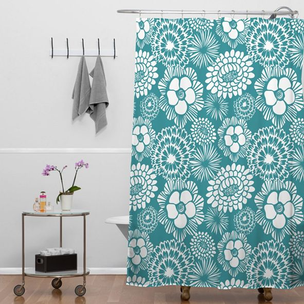 Deny Designs Heather Dutton Festibloom Shower Curtain