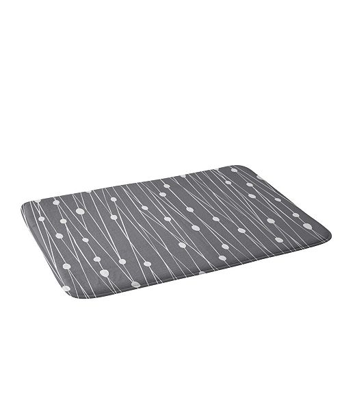 Deny Designs Heather Dutton Gray Entangled Bath Mat