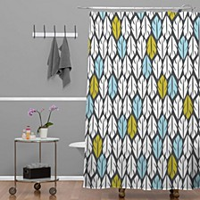 Heather Dutton Foliar Shower Curtain