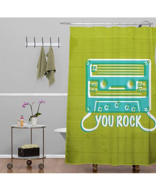 Deny Designs Heather Dutton You Rock Shower Curtain