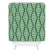 Deny Designs Holli Zollinger Beaded Triangle Shower Curtain