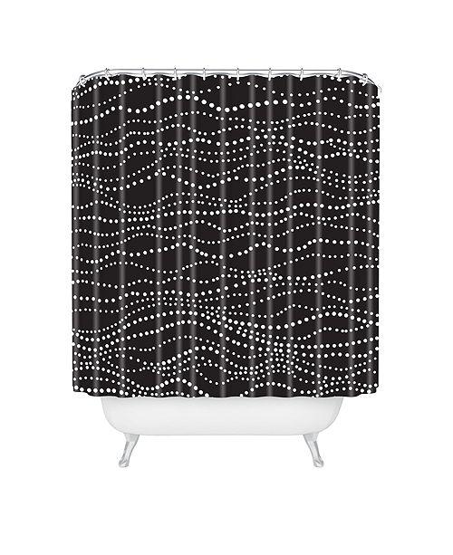 Deny Designs Heather Dutton Gossamer Midnight Shower Curtain