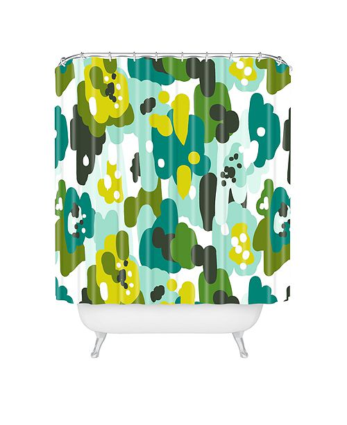Deny Designs Heather Dutton Painted Camo Shower Curtain