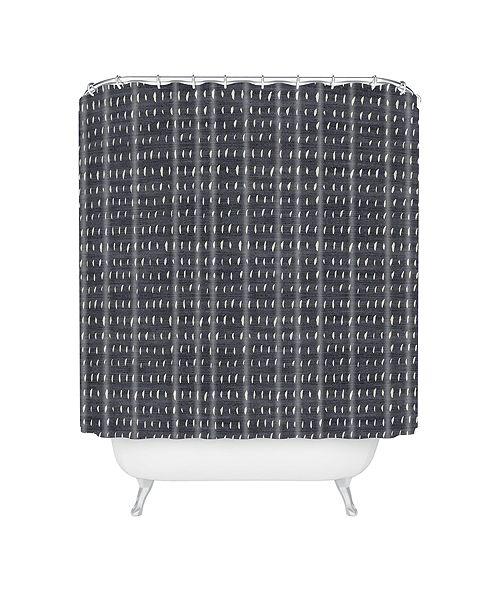 Deny Designs Holli Zollinger Bogo Denim Rain Shower Curtain