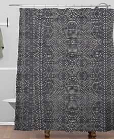 Holli Zollinger Marrakeshi Denim Shower Curtain