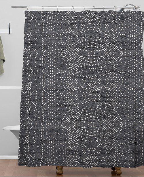 Holli Zollinger Marrakeshi Denim Shower Curtain