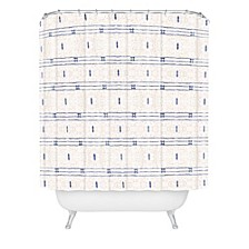 Holli Zollinger French Linen Stripe Shower Curtain