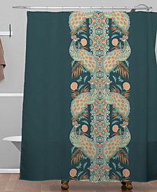 Deny Designs Holli Zollinger Chateau Peacock Shower Curtain