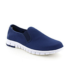 NoSoX by Deer Stags Men's Wino Comfort Cushioned Felxible Breathable Casual Slip-On Sneaker