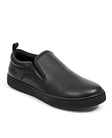 Deer Stags Men's Depot Memory Foam Slip-Resistant Oil-Resistant Non-Marking Dress Comfort Slip-On