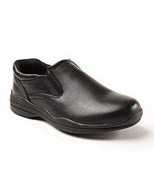 Deer Stags Men's Goal S.U.P.R.O Sock Leather Dress Comfort Casual Slip-on