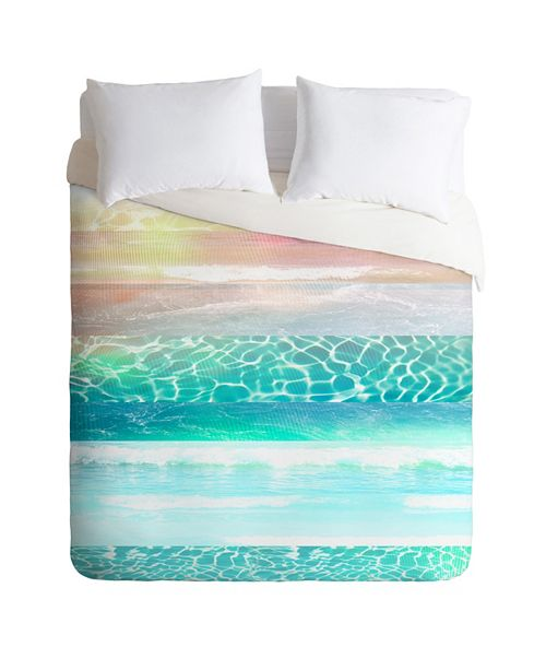 Deny Designs Iveta Abolina By The Poolside I Queen Duvet Set