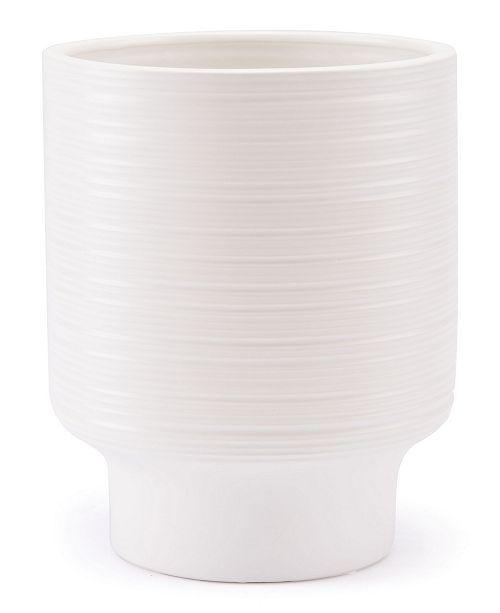 Zuo White Tall Vase White Bowls Vases Macys