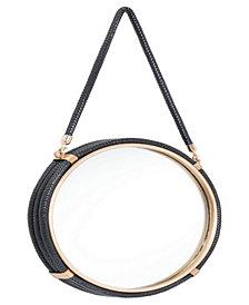 Round Mirror Black