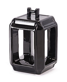 Japanese Black Candle Holder Sm Black