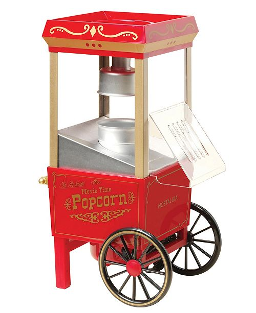 Nostalgia 12-Cup Hot Air Popcorn Maker