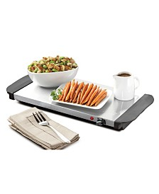 HomeCraft 3-Station 1.5-Quart Buffet Server & Warming Tray - Copper