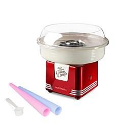 Retro Hard & Sugar Free Candy Cotton Candy Maker