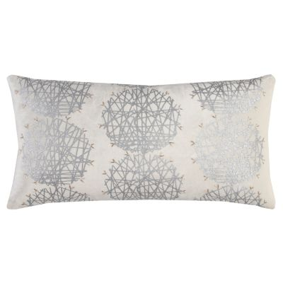 """11"""" x 21"""" Medallion Poly Filled Pillow"""
