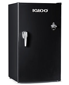 Igloo 3.2 Cu Ft Classic Square, Black