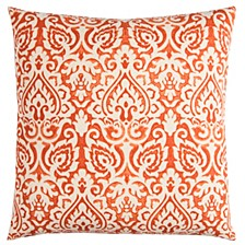 """22"""" x 22"""" Damask Poly Filled Pillow"""