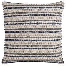 """20"""" x 20"""" Striped Poly Filled Pillow"""